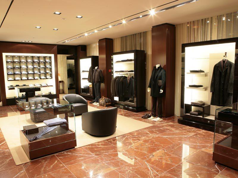 Открытие магазина мужской одежды